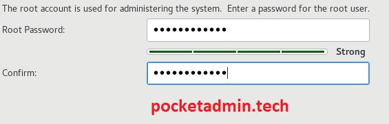 centos 8 root пароль